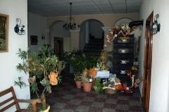 Flur mit Eingang zum Gastraum